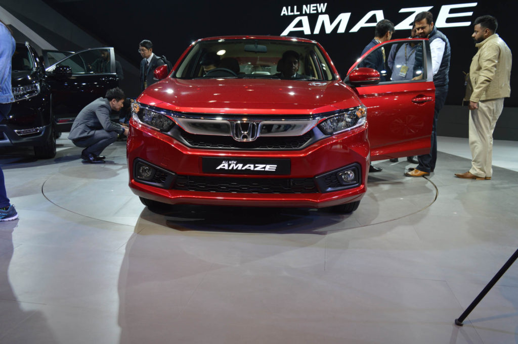 Honda Finally Launch The New Generation Amaze At Starting Price Of Petrol Is Rs 559900 Ex Showroom And Diesel Start 669900